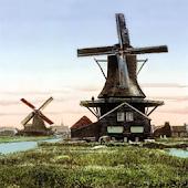 Old Windmill Live Wallpaper