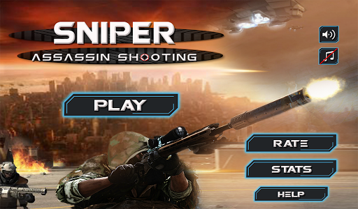 Sniper Assassin Shooting 3D
