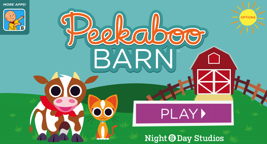 Peekaboo Barn - screenshot