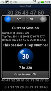 Keno Track Pro - screenshot thumbnail