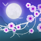 Blooming Night Hintergrund icon