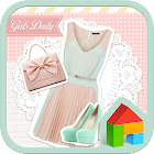 Girls dodol launcher theme icon