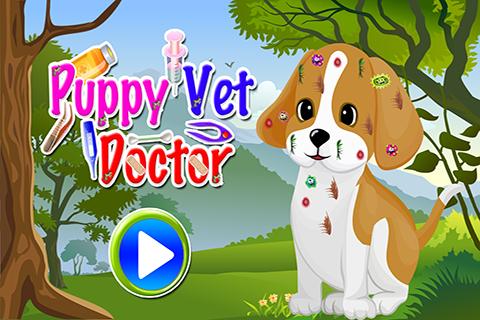 Puppy Vet Doctor - Kids Games