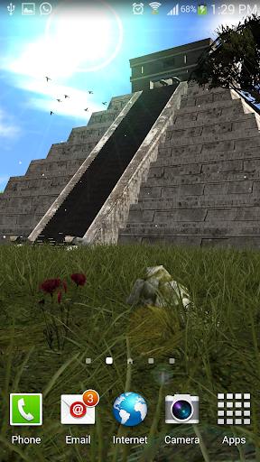Mayan Pyramid Chichen itza LWP