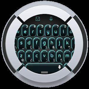 Черный и синий Клавиатура