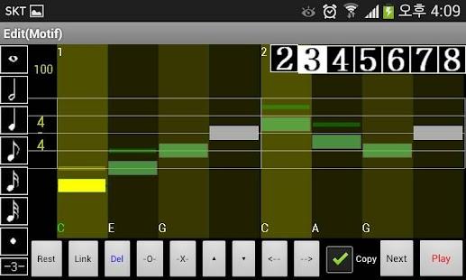 Ezy Melody Maker for Beginners - screenshot thumbnail