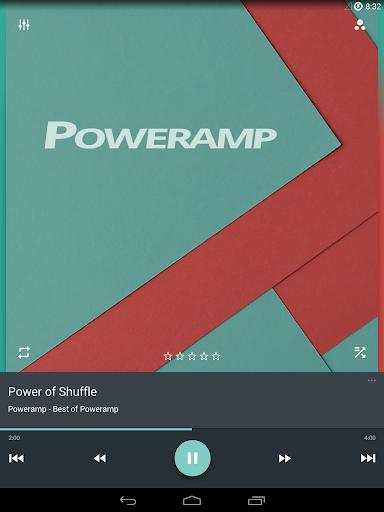 Skin for Poweramp Material  screenshots 9