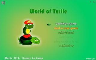 Screenshot of World of Turtle
