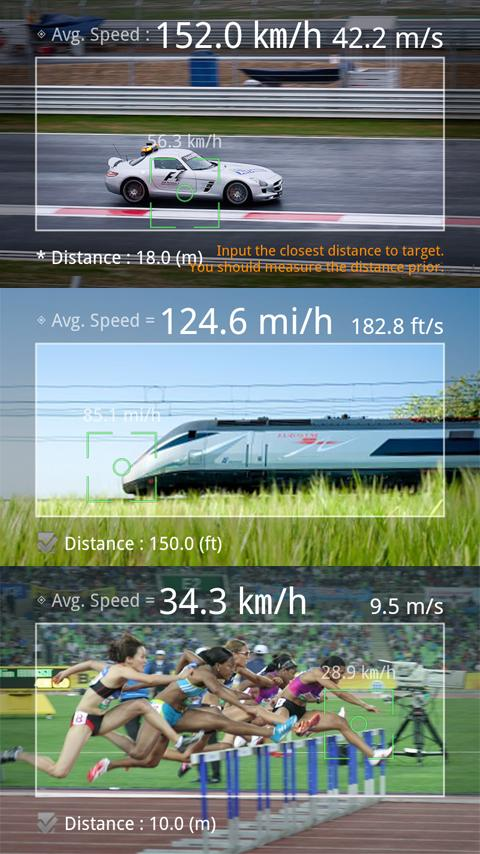 Smart Distance Pro - screenshot