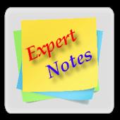 Expert Notes