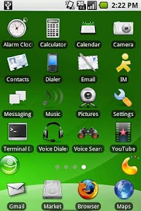 aHome Theme: openSUSE screenshot 0