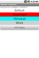 Screenshot of TaskMaster
