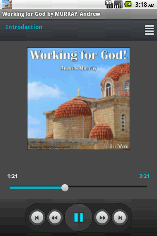 Audio book: Working for God