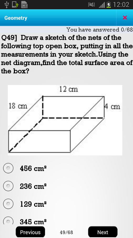 CA 6th Geometry- screenshot