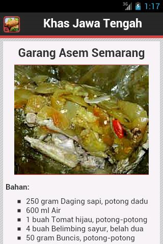 Image Result For Resep Masakan Jawa Tengah Mudah
