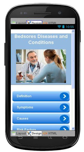 Bedsores Disease Symptoms