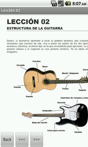 Curso gratuito para aprender a tocar Guitarra en el celular