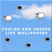 Clouds & sheeps live wallpaper