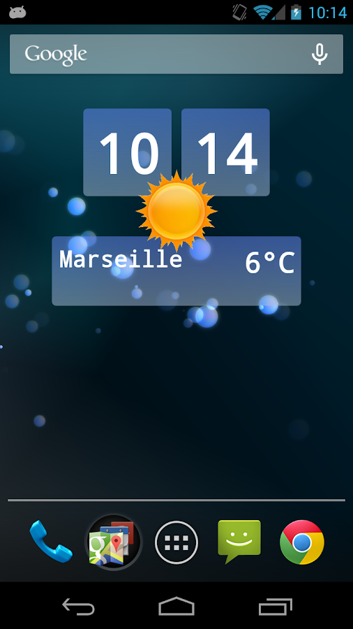 Live Weather Plus - screenshot