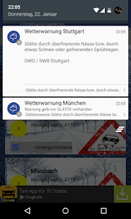 Wetterwarner - screenshot thumbnail