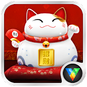 2014 Lucky Cat Lock&Wallpaper