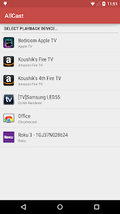 AllCast Premium Screenshot