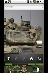 GDE camouflage/military theme - screenshot thumbnail