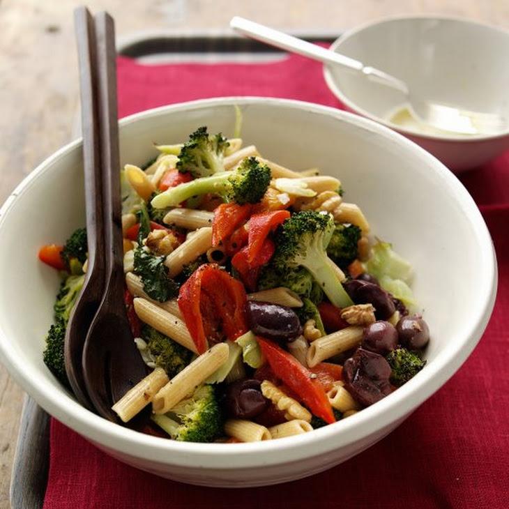 Pasta Salad with Roasted Broccoli Recipe