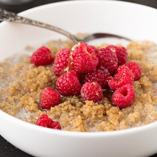 Chai Spiced Breakfast Quinoa