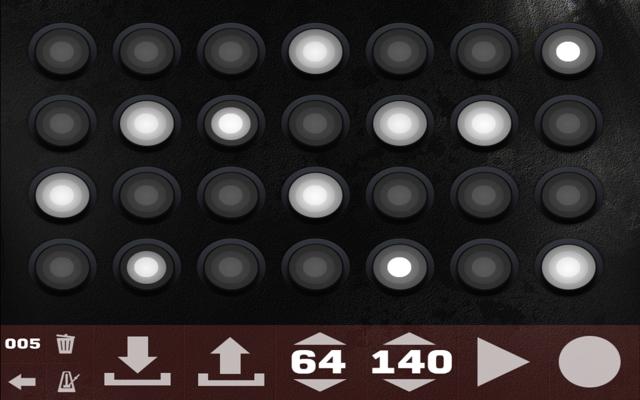 Dubstep Maker & Drum Machine - screenshot