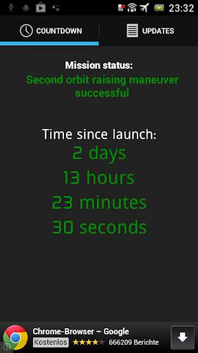 Mangalyaan Countdown