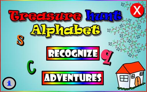Treasure Hunt Alphabet