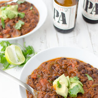 Spicy Black Bean and Beer Chili