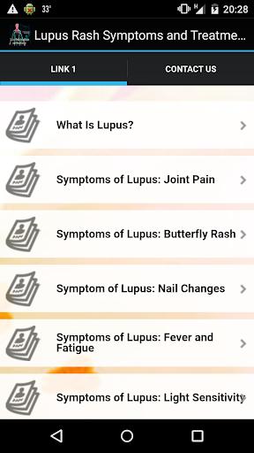 Lupus Rash Symptoms Treatments
