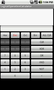 Logical operation calculator- screenshot thumbnail