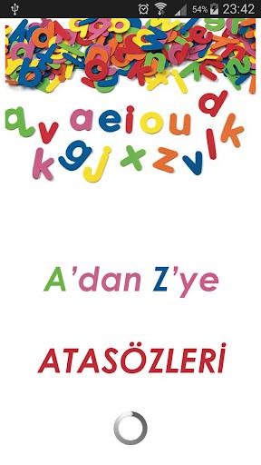 Atasözleri A'dan Z'ye