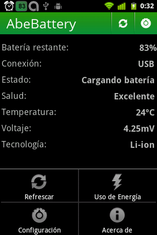 AbeBattery - screenshot