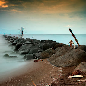 Slamaran Beach Pekalongan by Abdul Aziz - Landscapes Beaches ( beach, landscape,  )