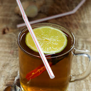 Flu-Fighting Winter Tea.
