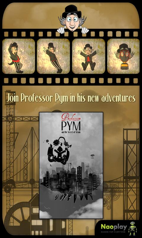 Professor Pym - screenshot