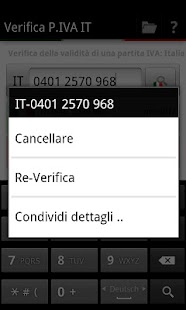 Verifica P.IVA IT- screenshot thumbnail