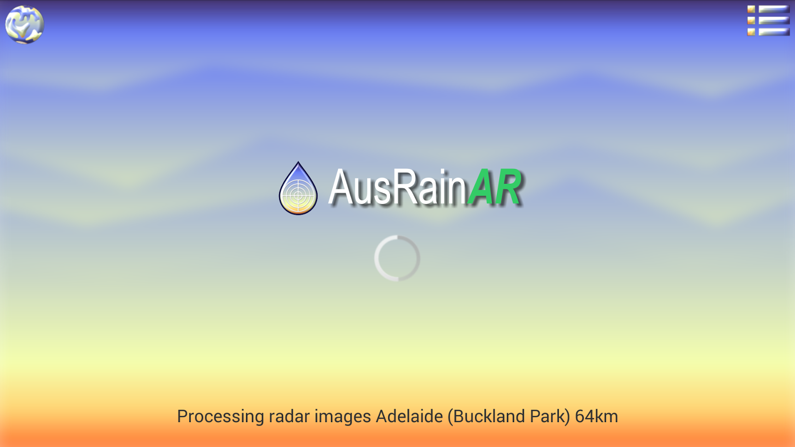 Aus Rain AR- screenshot
