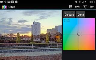Screenshot of ArtHDR