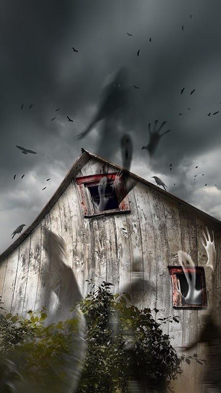 Haunted House Live Wallpaper Poster