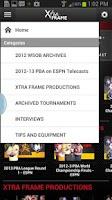 Screenshot of PBA XtraFrame