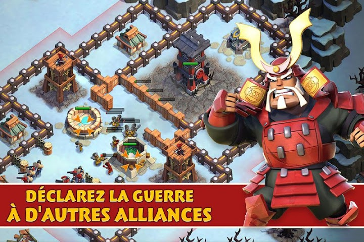 android Samurai Siege: Alliance Wars Screenshot 15