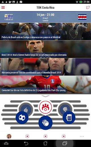 TOK Costa Rica para el Mundial