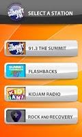 Screenshot of The Summit Radio