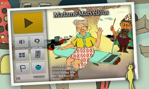 Madame Marvellous Kids Book
