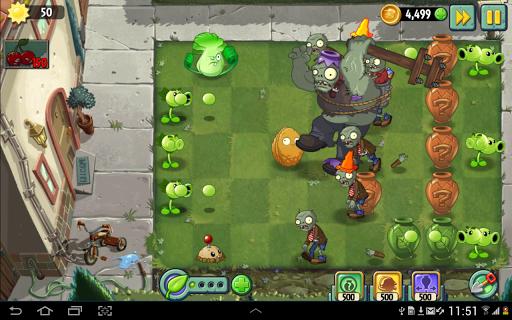 Plants vs Zombies 2 Free  trampa 6